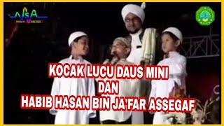 KOCAK LUCU LAWAKAN !! Habib Hasan bin Ja'far Assegaf Nurul Musthofa bersama Daus Mini & Yadi Sembako