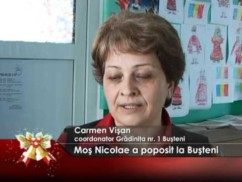 Moş Nicolae a poposit la Buşteni
