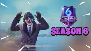Season 6 Is Out | PUBG Mobile | New Skins - First Impression!