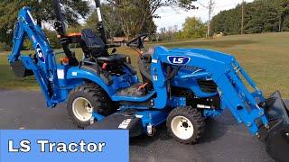 4. LS MT125 Tractor VS Massey Ferguson GC1705 GC1710 GC1720