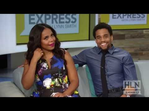 Sanaa Lathan & Michael Ealy On The Perfect Guy [Weekend Express HLN]