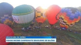 Araçoiba da Serra recebe edição do Campeonato Brasileiro de Balonismo
