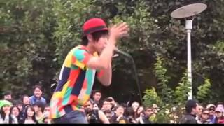 J!-ENT ON LOCATION: DAICHI performing at Union Square in San Francisco (July 28, 2013)