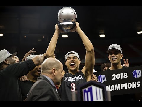 San Diego State takes Mountain West championship, defeats New Mexico, 82-75 (видео)