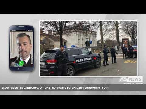 27/01/2020 | SQUADRA OPERATIVA DI SUPPORTO DEI CARABINIERI CONTRO I FURTI
