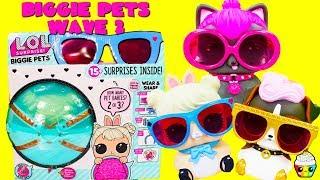 Video LOL Surprise BIGGIE PETS WAVE 2 Cotton Tail QT, Spicy Kitty, DJ K9 MP3, 3GP, MP4, WEBM, AVI, FLV Mei 2019