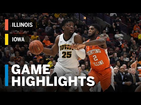 Highlights: Hawkeyes Give Record Setting Performance | Illinois vs. Iowa | March 14, 2019