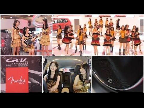 New Honda CR-V & Honda HR-V Special Edition Introduction by JKT48