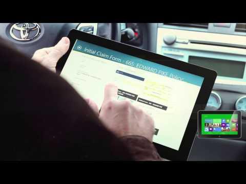 Hyland Software Windows 8 Insurance Adjuster Field App