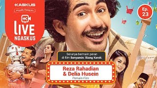 Nonton Live Ngaskus  Episode 23   Reza Rahadian   Delia Husein  Film  Benyamin  Biang Kerok   Film Subtitle Indonesia Streaming Movie Download