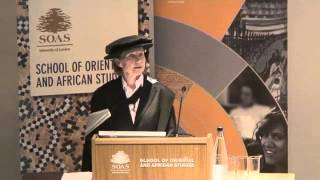 Prof. Almut Hintze (SOAS) Inaugural Lecture - Change and Continuity in the Zoroastrian Tradition