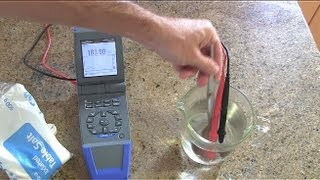 How to measure moisture in a wall / wood with a multimeter