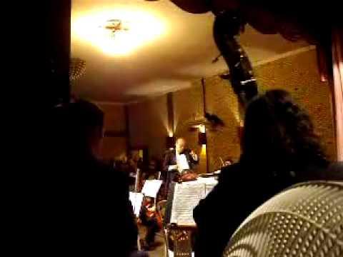 orquestra sinfonica do ceará em beberibe-ce tocando 1º momento da 5ª sinfonia
