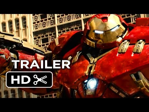 Avengers: Age of Ultron Official Trailer #1 (2015) - Avengers Sequel Movie HD