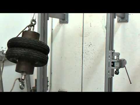 Impatto, vetro float 3mm SENZA PELLICOLA