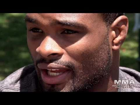 Tyron Woodley talks Improving His Stand-up Game
