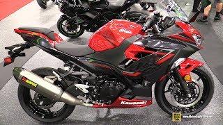 10. 2019 Kawasaki Ninja 400 ABS - Walkaround - 2018 AIMExpo Las Vegas