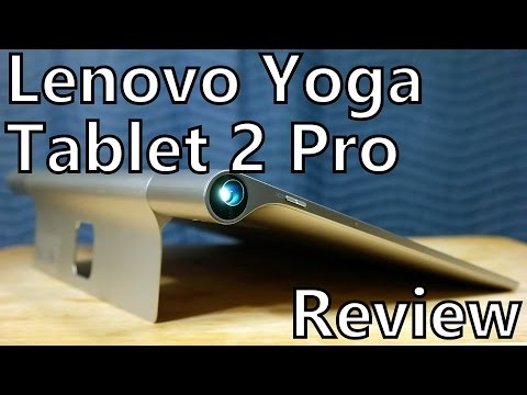 Review: Lenovo Yoga Tablet 2 Pro - 13.3 inches of Android with a Projector!