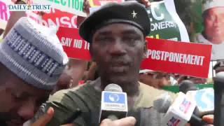 Nigerians Protest Against Election Postponement