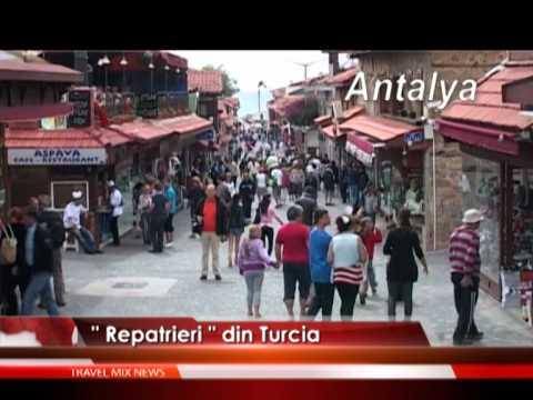 """Repatrieri"" din Turcia – VIDEO"