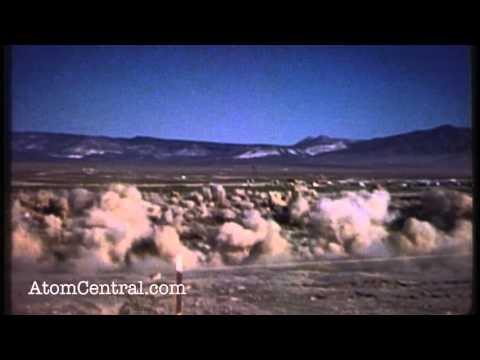 Esto es lo que sucede después de una prueba nuclear subterránea