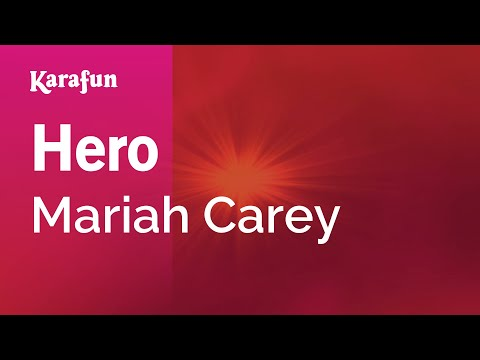 Karaoke Hero - Mariah Carey *