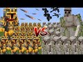 Download Lagu Minecraft 1000 IRON GOLEM VS 1000 MC NAVEED BATTLE MOD / FIGHT AND SURVIVE THE BATTLE!! Minecraft Mp3 Free