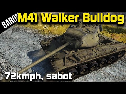 War Thunder's Fastest Tank?  The M41 Walker Bulldog with Sabot Rounds!