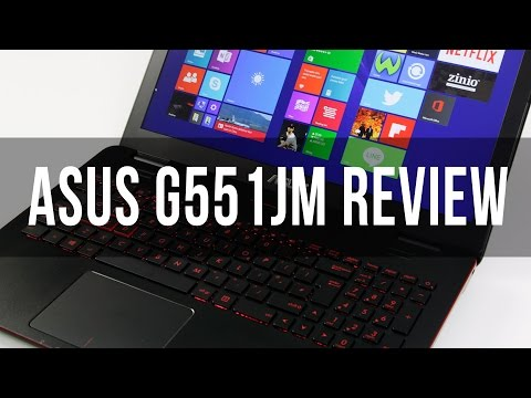 Asus G551JM (G551 series) review