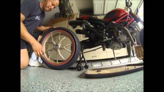 7. Ducati Monster 1100 S Part 1 Wheel Removal