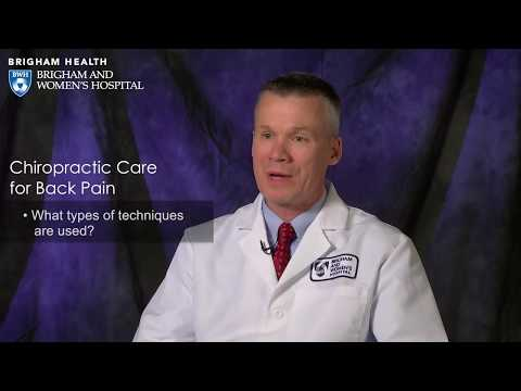 Chiropractic Care for Back Pain Video – Brigham and Women's Hospital