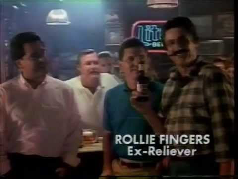 1988 Miller Lite Beer Commercial Mike Torrez, Larry Bowa, Rollie Fingers