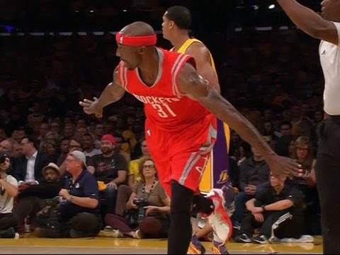Jason Terry hits pair of triples in Rockets debut vs. Lakers