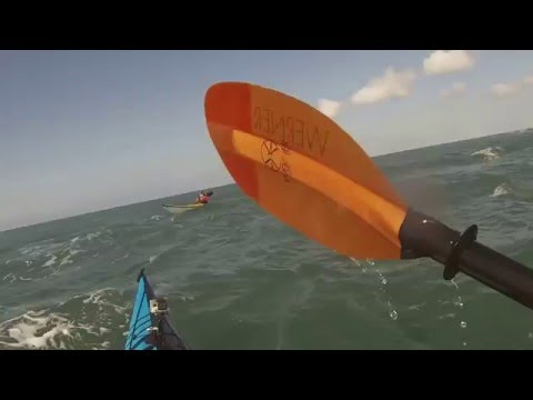 Sea Kayaking to The Bishops and The Clerks