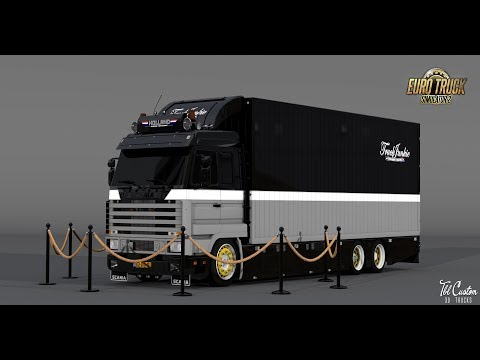 Scania 143M The Old Pirate 1.32.x-1.33.x