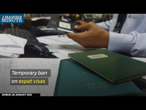 A six-month ban on hiring expat workers in certain sectors has been imposed by the Ministry of Manpower in Oman.