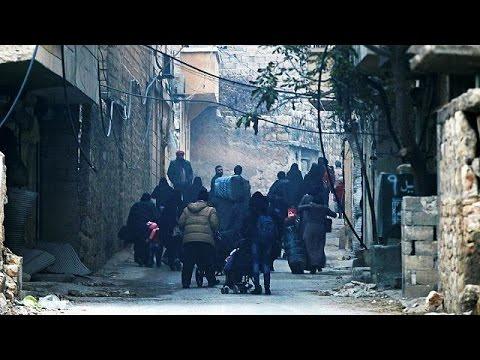 Τα σπαρακτικά μηνύματα των αμάχων στο Χαλέπι