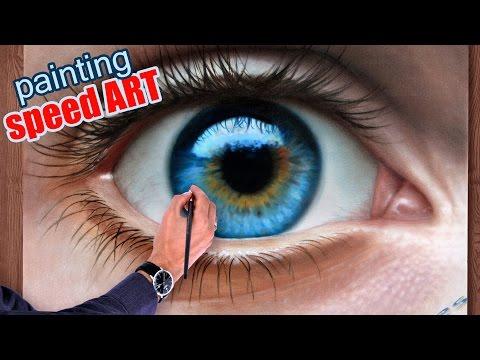 tecnica per disegni 3d - occhio