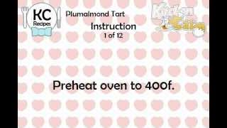 KC Plumalmond Tart YouTube video