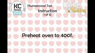 KC Plumalmond Tart YouTube video