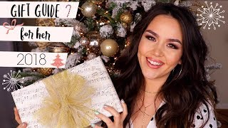 HOLIDAY GIFT GUIDE FOR HER 2018 by Danna Ann