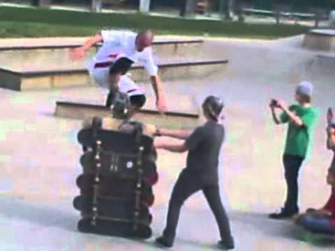 10 Deck Ollie Cuyahoga Falls Skatepark