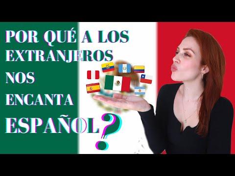 Por qué a los extranjeros NOS ENCANTA HABLAR ESPAÑOL? I Checa en México