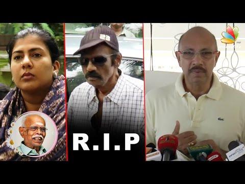 Goundamani-Sathyaraj-Condolence-Speech-at-Popular-Producer-Panchu-Arunachalam-Death
