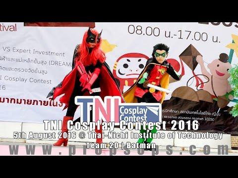 TNI Cosplay Contest 2016 | Team 20 – Batman