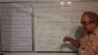 Algebra Intermedia - Lección 28 - A (suma Y Resta De Fracciones Algebraicas Homogéneas)