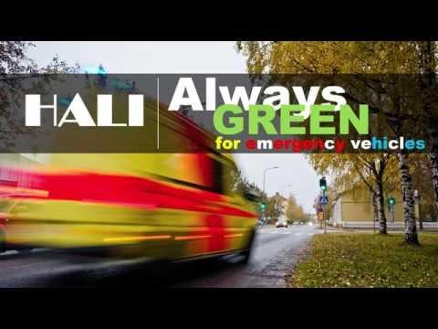 HALI - Always Green for Emergency Vehicles