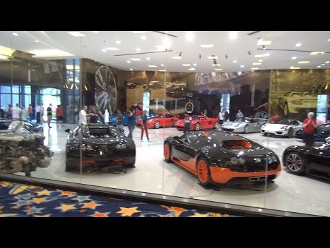 $50+ Million Car Collection w/ Indoor Bowling Alley, Swimming Pool, Bar & Offices!