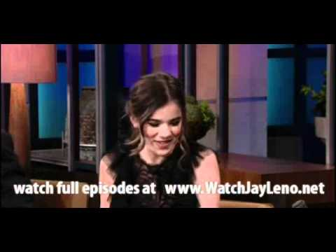 Hailee Steinfeld in The Tonight Show with Jay Leno 2011.02.04