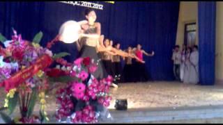 A4k50 Múa Dân Gian 12a4-hội Thi Tiếng Hát Dưới Mái Trường Năm Học 2011-2012